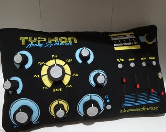home decor Music handmade pillow Typhon exclusive gift for musician