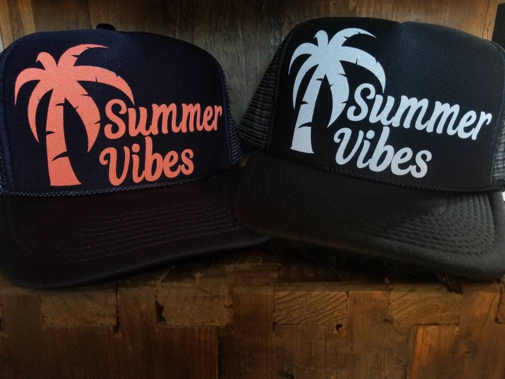 Summer vibes. Trucker hats  72a710f9d6a