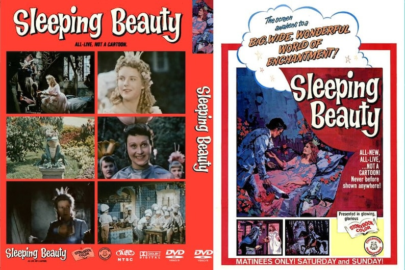 Sleeping Beauty (1966) Childhood Productions DVDR!