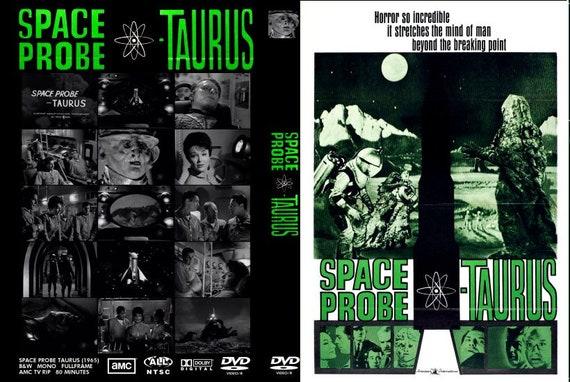 Platz Sonde Stier / Space Monster 1965 Sci-Fi 2 Disc DVDR Set