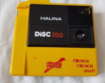 Vintage Halina Disc 100 Camera