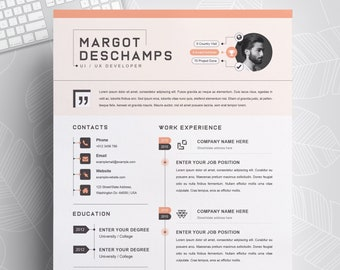 Infographic Resume Etsy