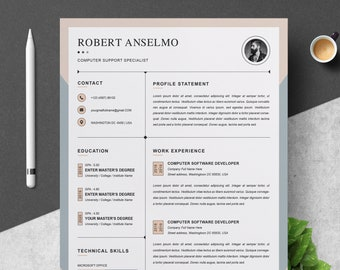 Resume Template CV Design