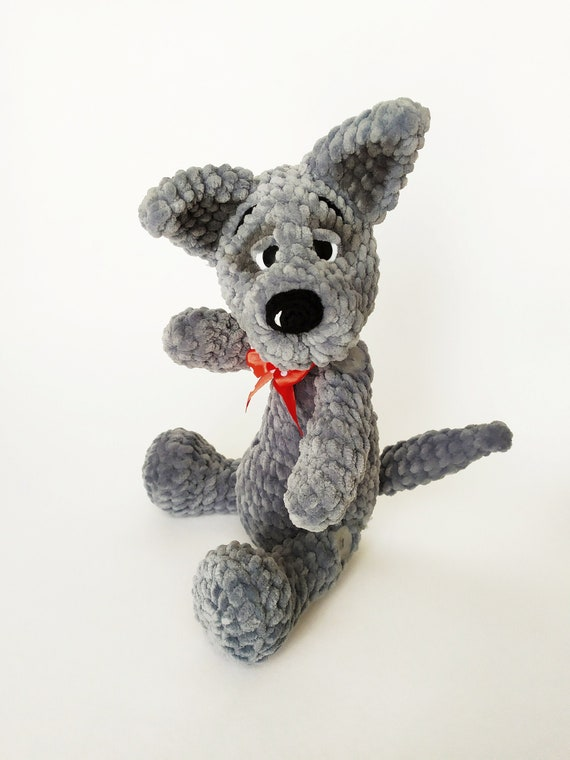 Wolf Amigurumi Stuffed Animal, crochet wolf doll, amigurumi wolf ... | 760x570