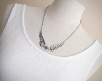 Bird wings necklace