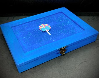 Trickster Cleric Themed Dice Box