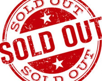 Embroidery Pattern - SOLD OUT