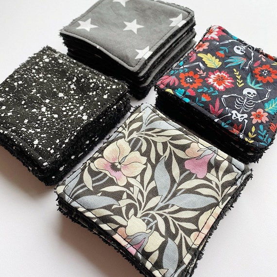 Reusable makeup / nail varnish remover wipes - Eco friendly beauty wipes, gift for eco warrior