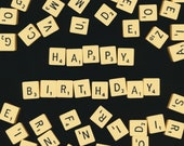 Birthday Card | Scrabble Tiles | Quirky Card