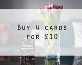 Multipack | Any 4 cards, ...