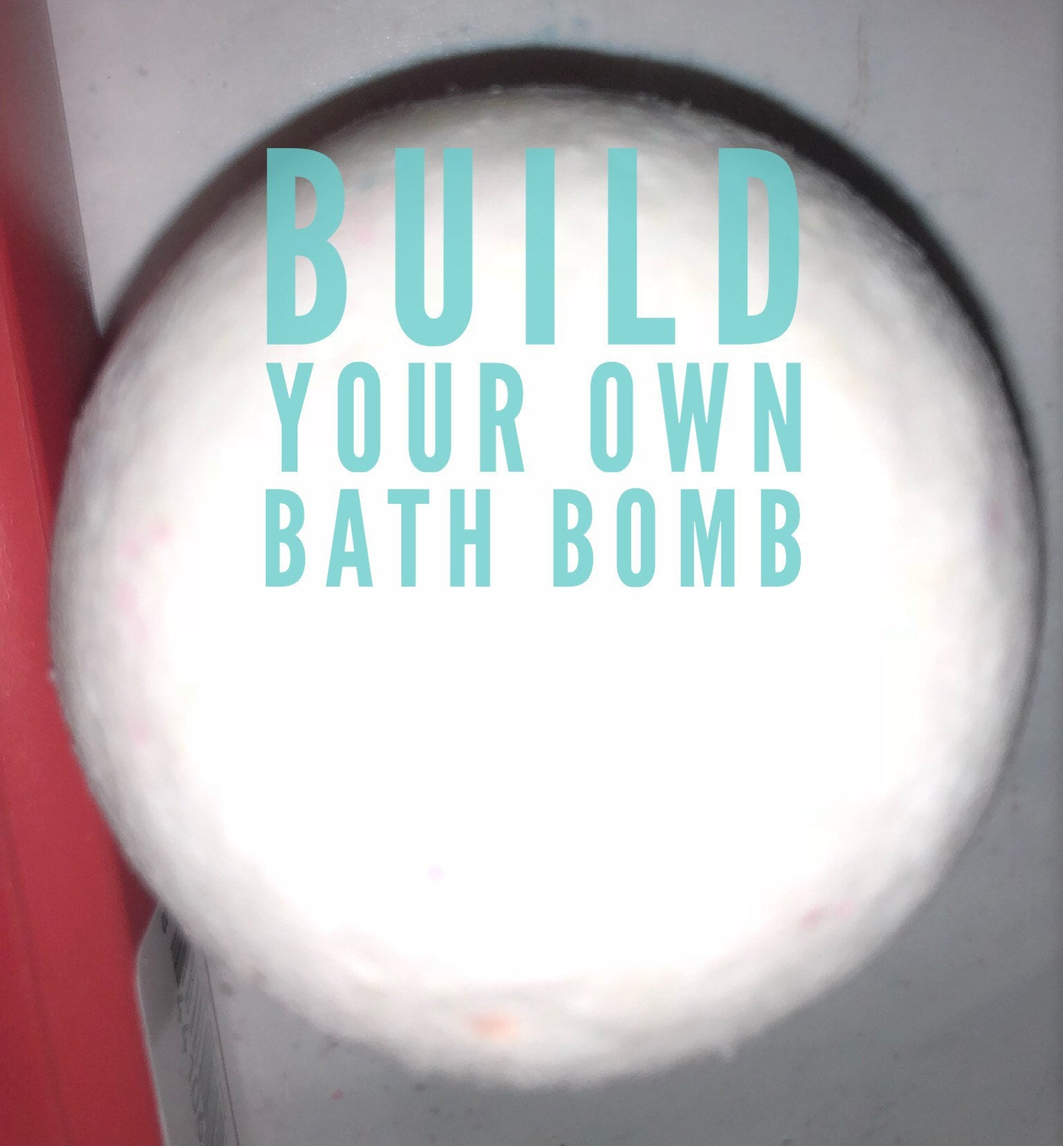 One of a Kind Build your own bath bomb 3 ounce