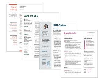 Custom Resume Word File