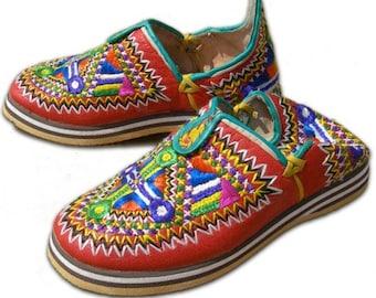 slippers traditional  women (idokan)  leather