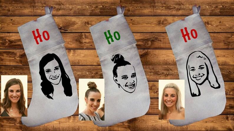 Personalized stockingroommate stockingssister stockingsfunny stockinghohoho stockingadult stockingpersonalized Christmas stocking