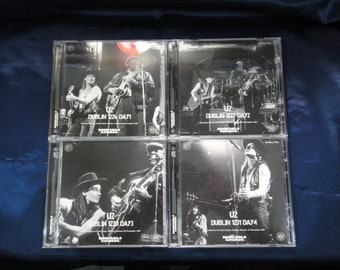 U2 Lovetown Tour 1989 4 Days 8CD Moonchild Records