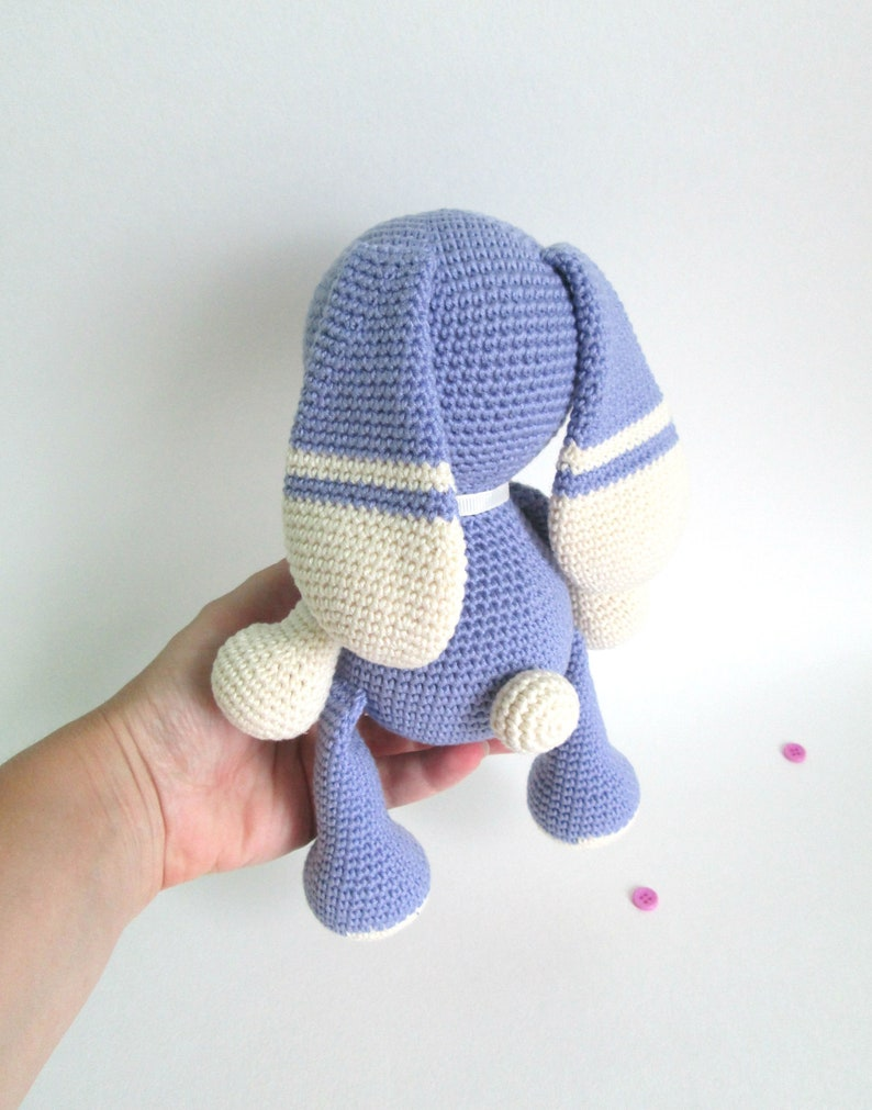 Pregnancy gift toy Purple Stuffed toy rabbit Newborn baby toy Baby shower gift for boy or girl
