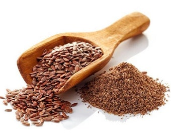 Flax seed 4 oz - 36 oz - Dried Seeds or Ground