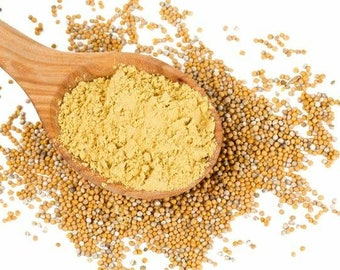 Yellow Mustard Powder 4oz - 12oz
