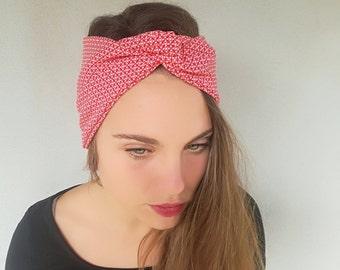 materiali di alta qualità vari design scegli ufficiale Fasce per capelli turbanti scaldacollo e di Akiahandmadeshop