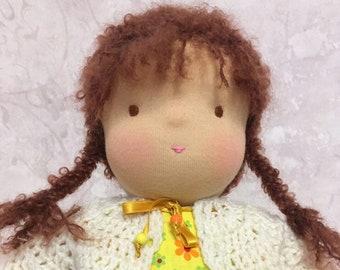 Waldorf Doll Handmade toy Pupa