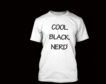 Cool Black Nerd T-Shirt