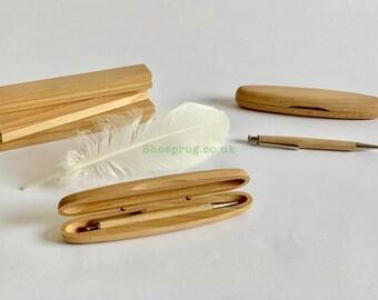 Free Shipping.Free Gift Box and Bag Acrylic Pens Wood Pens Hand Made Pens