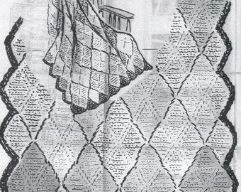 Mary Maxim Afghan Crochet Pattern Digital Download | Etsy
