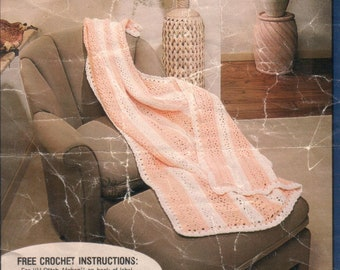 V-Stitch Afghan Digital Download Crochet Pattern