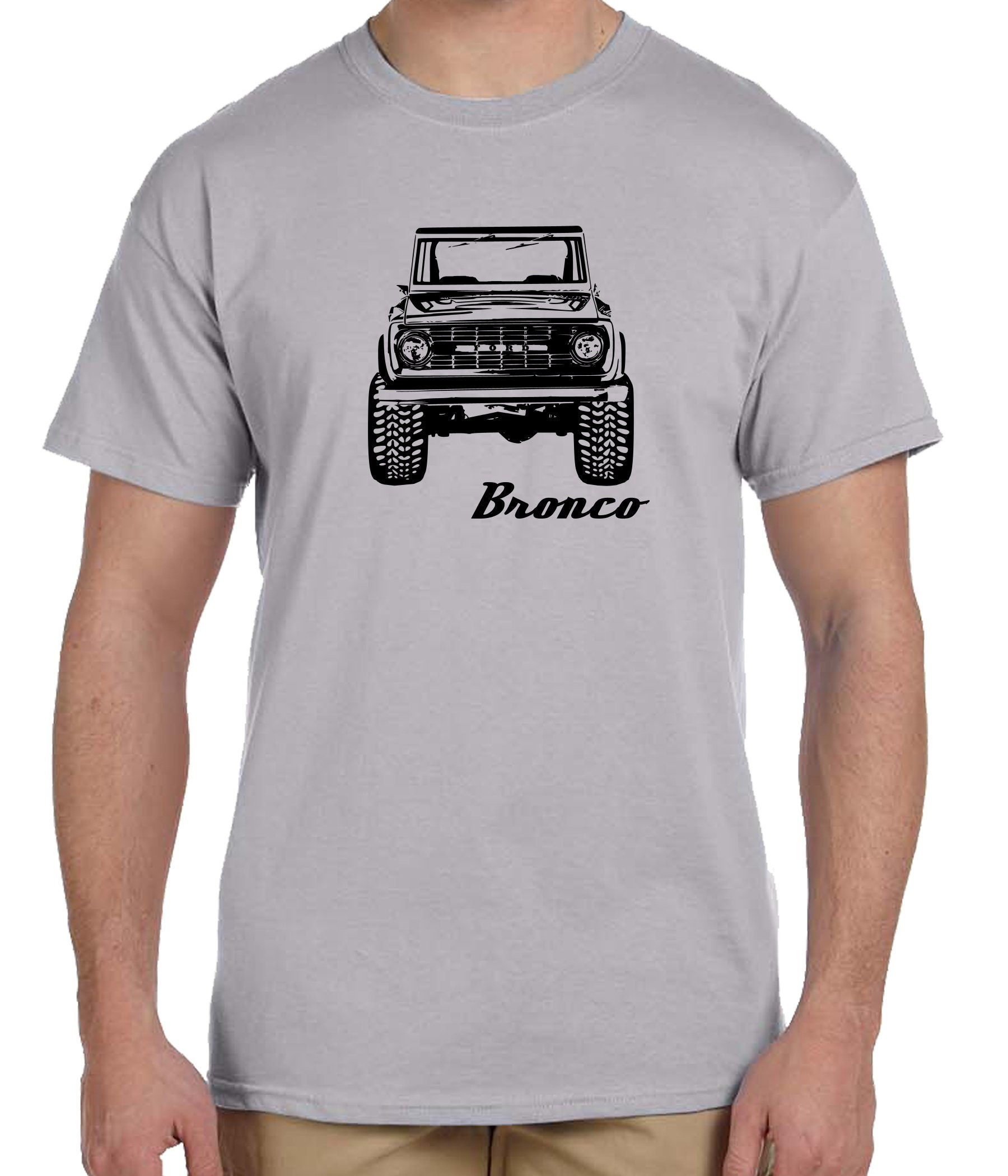 68351a844ee Early ford bronco classic bronco 4x4 truck t-shirt