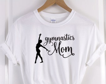 5b05dd6d2c Gymnastics Mom Shirt, Gymnastics Lover Gif, Gymnastics T-Shirts, Gymnastics  Clothing, Fitness T-Shirt, Funny Shirt Women's, Girls Gymnastics
