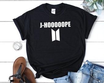 aca1a3e491 BTS T Shirt, BTS Shirt, BTS T-Shirts, Kpop Shirt, J-Hope, J Hope Shirt, Bts  Bangtan Boys, Kpop Funny T Shirt, Bts Funny T Shirt, Jungkook