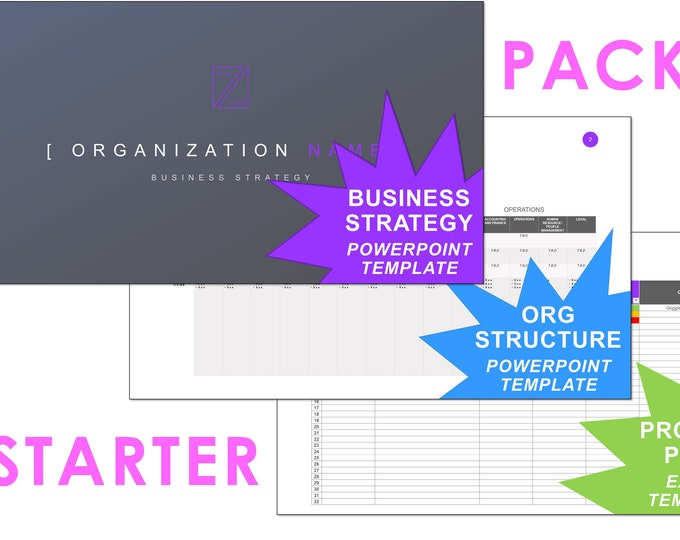 Business Planning | STARTER PACK!