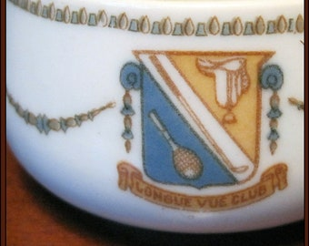 Longue Vue Club Small Tea Cup Made by Lamberton Scammell 1930s