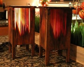 Handmade Cedar lamp
