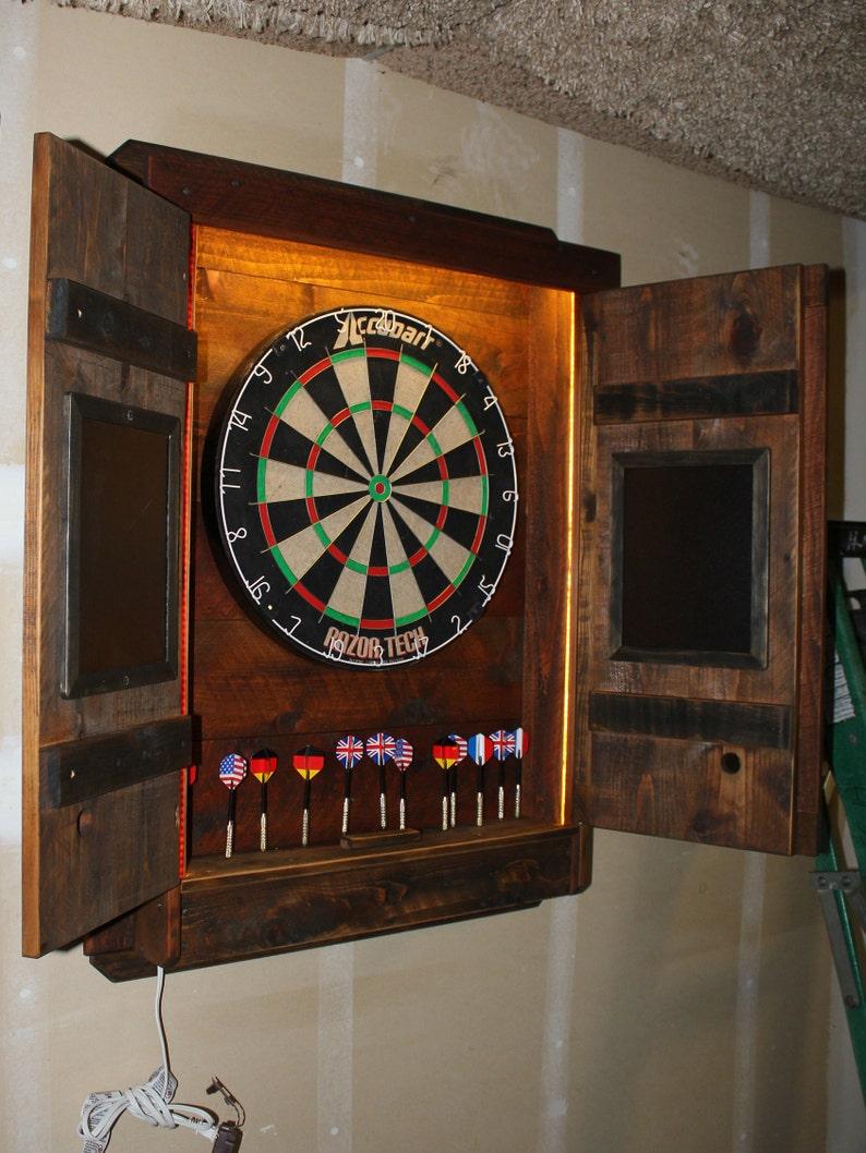 Merveilleux Dartboard Cabinet Light LED Dart Board Throw Line Laser Image ...