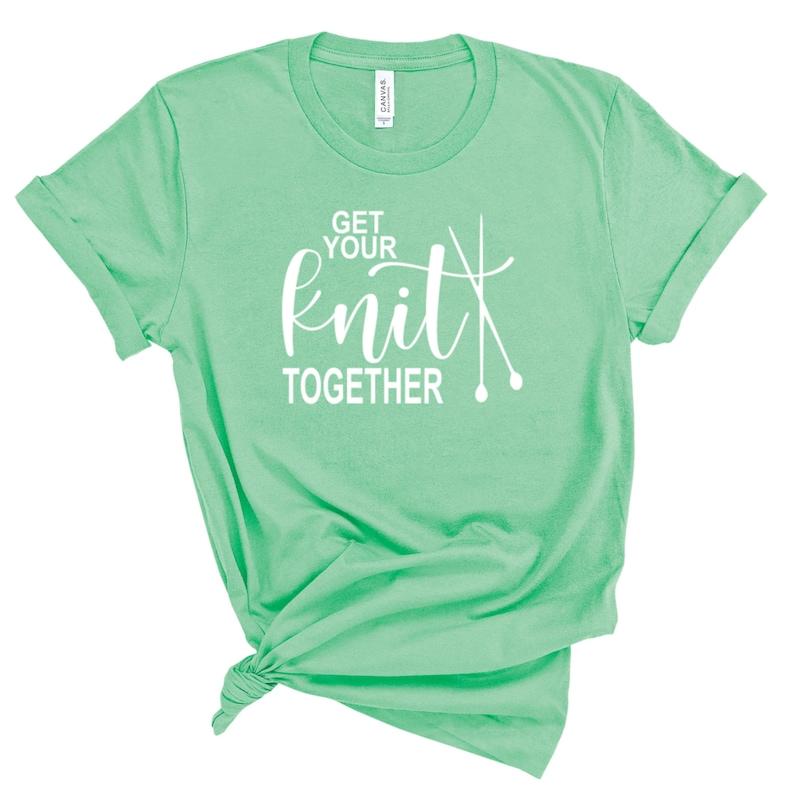 Shirt for Knitter Funny Knitter Shirt Gift for Mom Unisex Tshirt