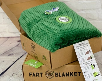 Fart Blanket Gift Box by Dutch Oven Kits | Funny Birthday Gift Box | Housewarming Gifts, Anniversary Gift, Care Package