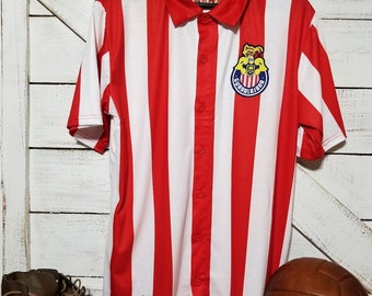 5a356349c Club Guadalajara Chivas Jersey 1956 Retro Jersey