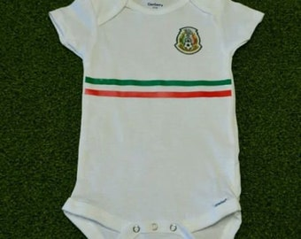 c28972bb6 Mexico 2018 baby jersey Baby Jersey 6-9 months free baby name and number.
