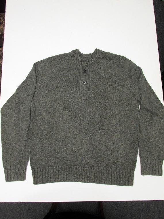 62c032197ba Men s Eddie Bauer Henley Cotton Sweater
