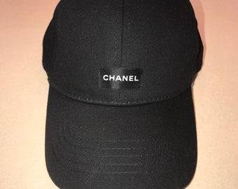 fff871e4665 Custom hat made with authentic Chanel ribbon