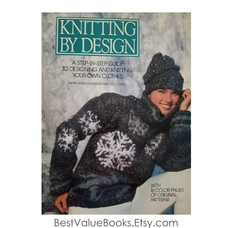 1f14cd244 Knitting Books Knitting By Design by Mary Anne Erickson 30
