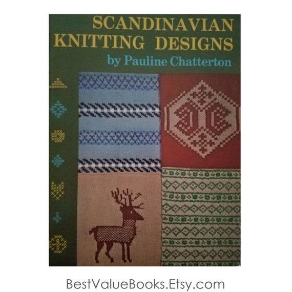 Knitting Books Scandinavian Knitting Designs By Pauline Etsy
