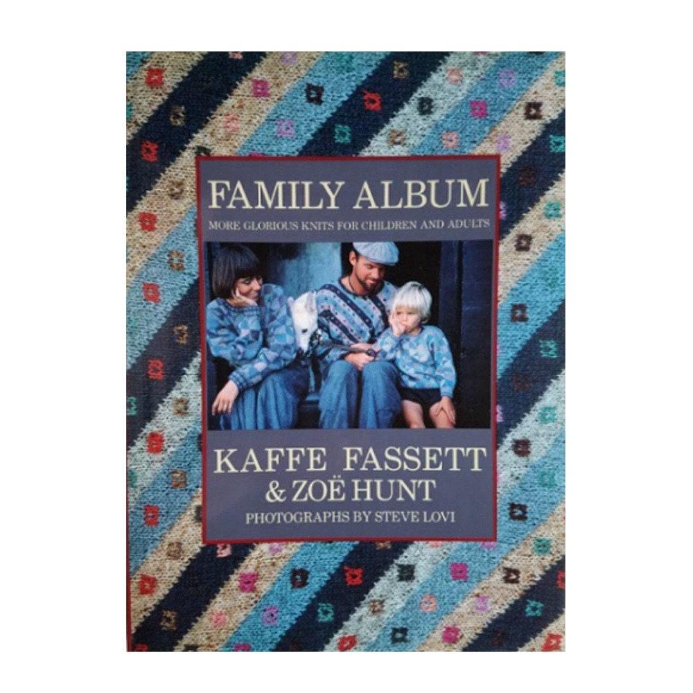 74e29f085b930 Knitting Books Family Album by Kaffe Fassett Knitting