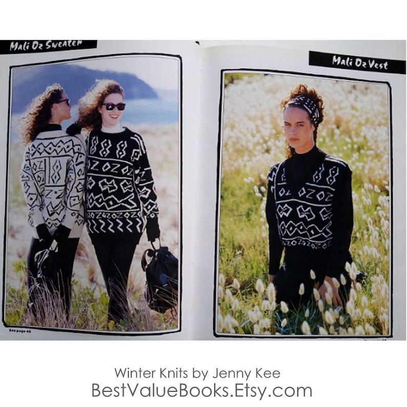 0be0287e55e52 Knitting Books Winter Knits by Jenny Kee 30 Knitting Patterns