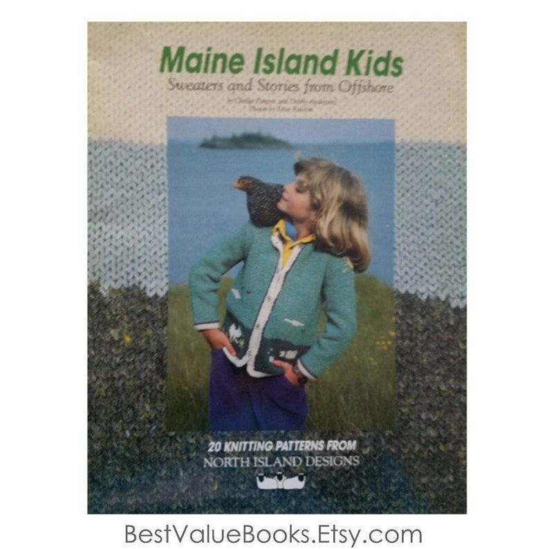 bf8f63ee8f602c Knitting Books Maine Island Kids 20 Knitting Patterns from