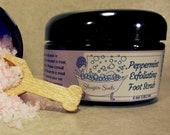 Peppermint Foot Scrub, Peppermint Sugar Scrub, Foot Scrub, Peppermint Essential Oil, Foot Care, Sugar Scrub, Exfoliating, Scrubs With Sugar