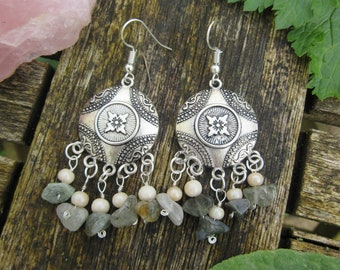 Pretty Boho Dangle Earrings