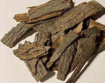 1 lb package of a mix of Cherry and Maple tree bark. Thick bark. Craft bark potting bark from felled tree.