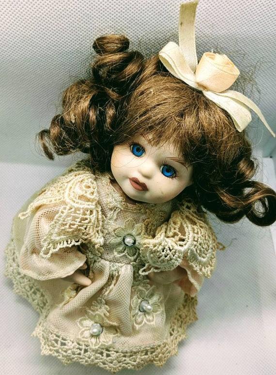 McFarland International Porcelain Jointed Doll